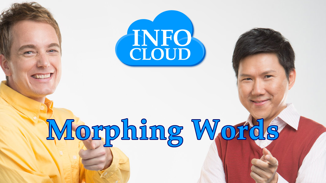 【Info Cloud】Morphing Words