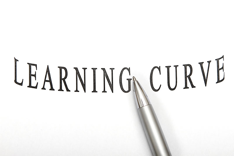 learning curve (Idiom)