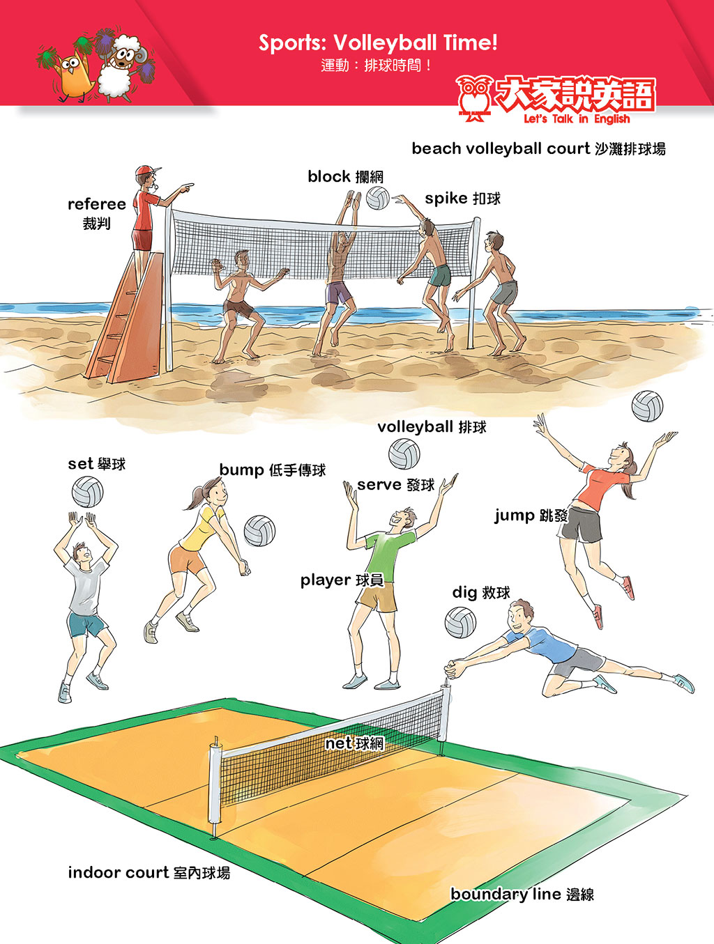 Sports: Volleyball Time!