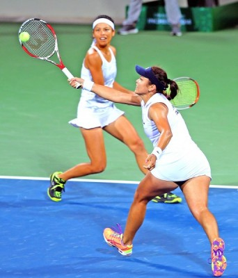 Let's cheer for Su-Wei Hsieh and Hao-Ching Chan playing in ...