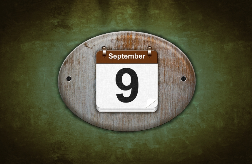 What special day is tomorrow, September 9?